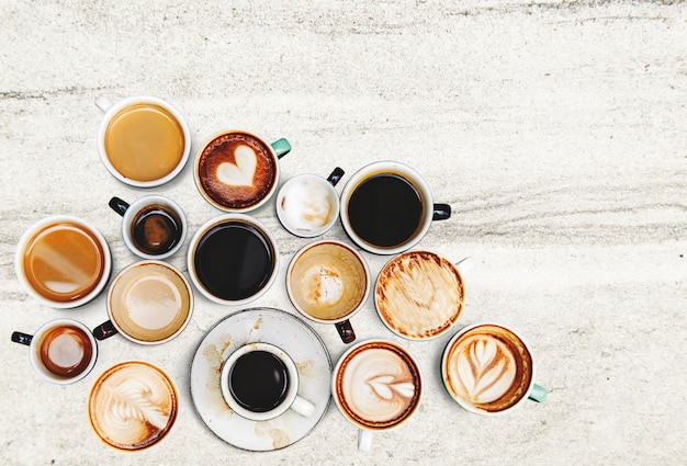 Taza de cafe coleccion