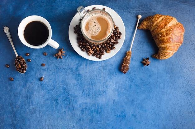 Taza de café delicioso
