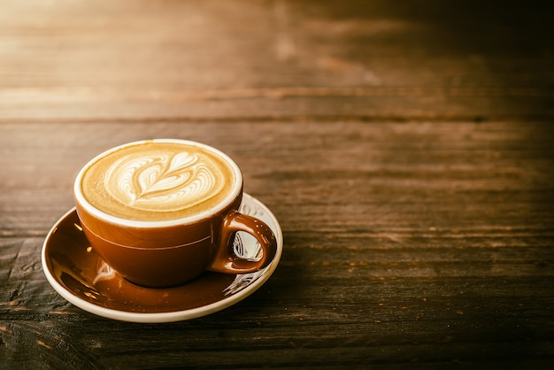 Taza de café de latte