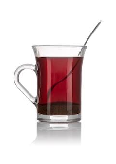Una taza de té de desayuno