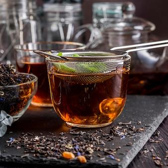 Taza de té fresco
