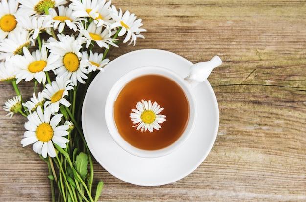 Taza de te de hierbas