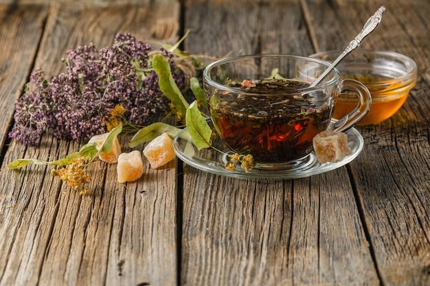 Taza de té saludable