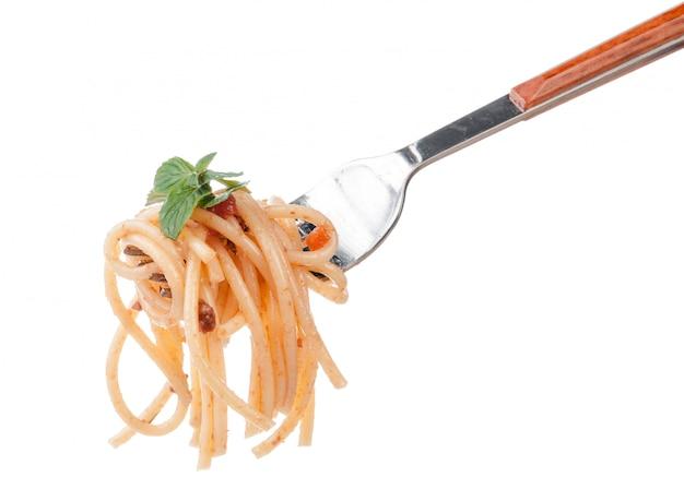 Tazón de espagueti