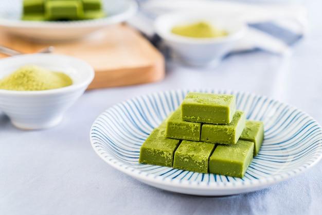 Té verde de chocolate suave