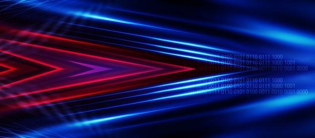 Tech fondo oscuro abstracto.