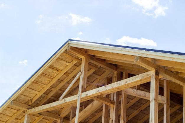 El techo de la casa.