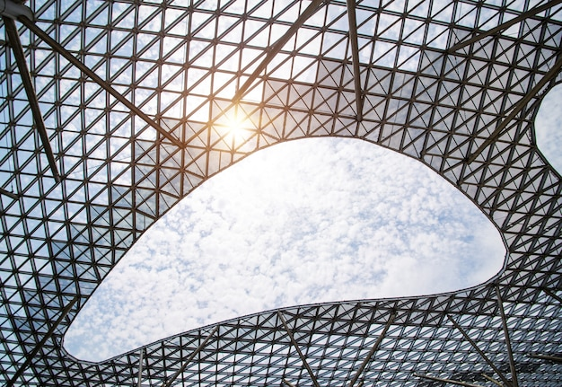 Techo de cristal estructural