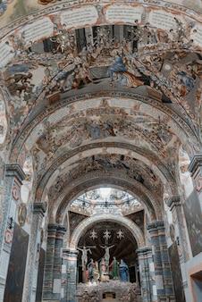 Techo interior de la iglesia, santuario de atotonilco, san miguel de allende, guanajuato, méxico