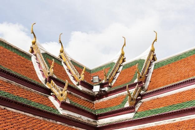 Techo del templo