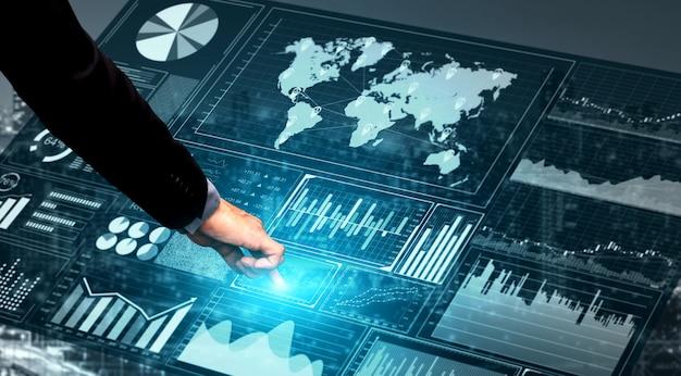 Tecnología de big data para las finanzas empresariales