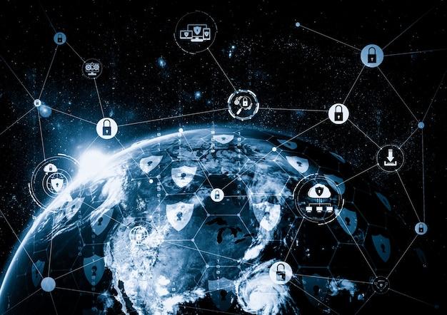Tecnología de ciberseguridad y protección de datos online en una percepción innovadora