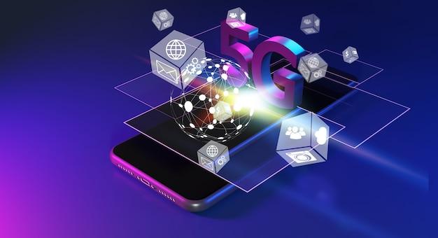 Tecnología inalámbrica de red 5g