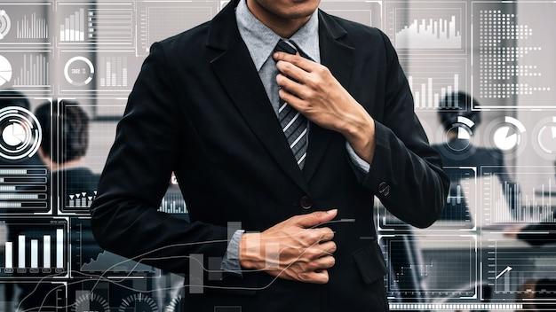 Tecnología de inteligencia empresarial y medios mixtos analíticos de big data