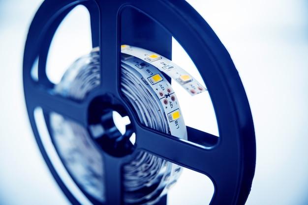 Tecnología de lámparas led. equipo eléctrico.