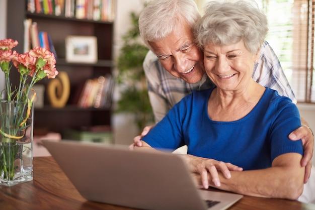 La tecnología moderna no es un problema para ellos.
