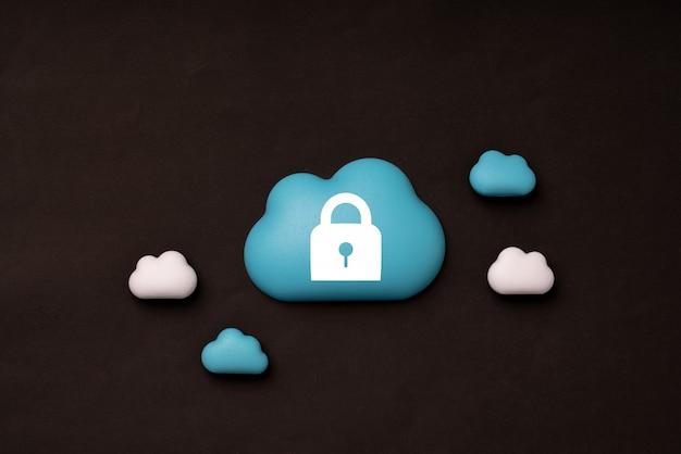 Tecnología en la nube para el concepto de negocio global