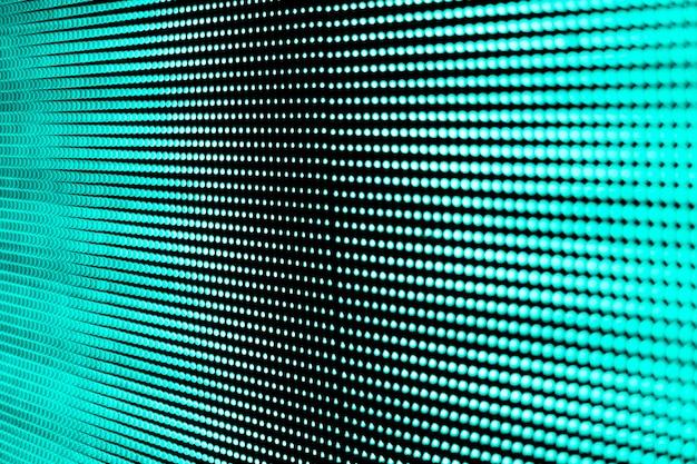 Tecnología de pantalla led.