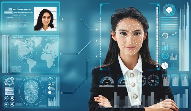 La tecnología de reconocimiento facial escanea y detecta el rostro de las personas para su identificación