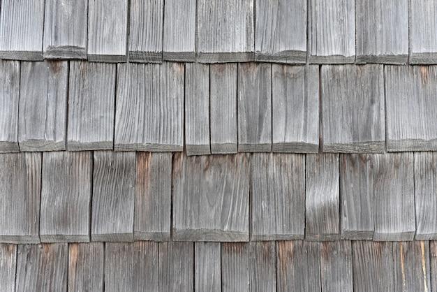 Tejas de madera vieja