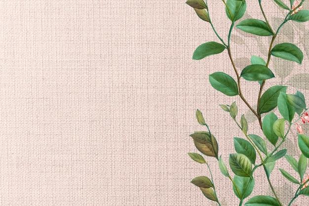 Tejido floral rosa texturizado