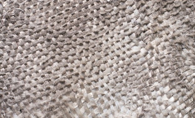 Tejido de hilo gris antiguo