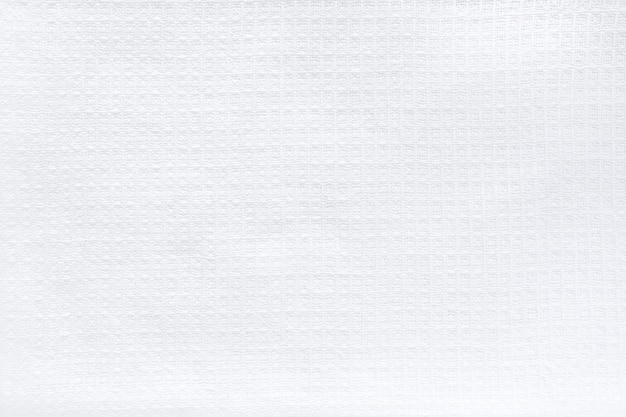 Tejido natural de lino blanco algodón, textura de fondo eco