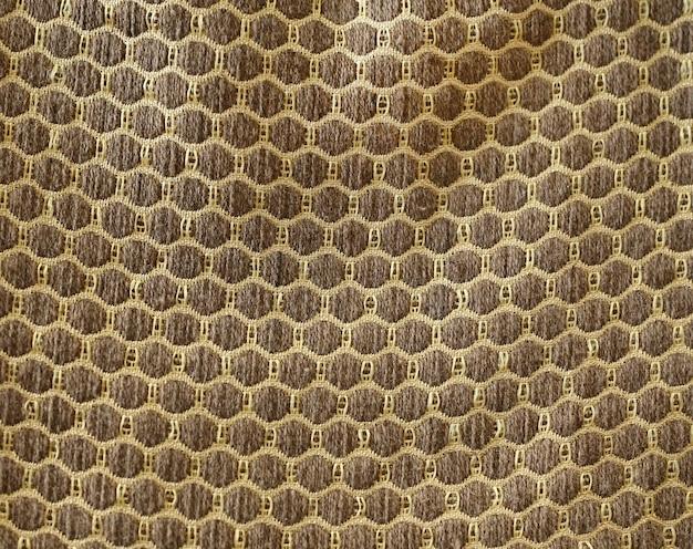 Tejido orgánico de seda tejido de cáñamo patrón.