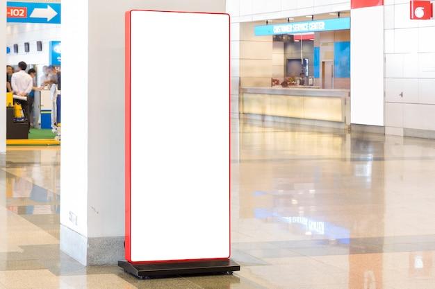 Tejido pop up unidad básica banner publicitario medio pantalla telón de fondo, fondo vacío