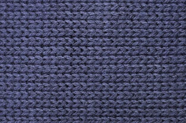 Tejido de punto de algodón, textura de lana.