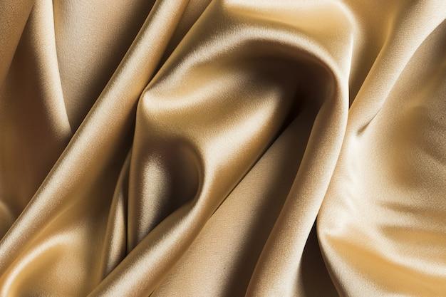 Tejido de seda caro y lujoso para adornos