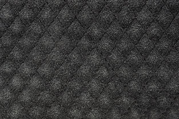 Tejido de textura color gris.