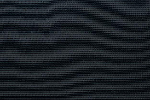Tejido texturado negro