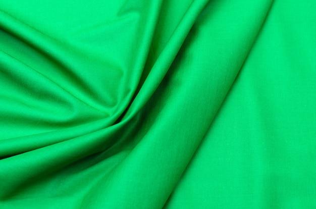 Tela de algodón verde batista