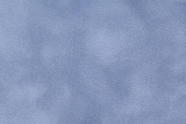Tela de gamuza mate azul claro con textura de terciopelo,