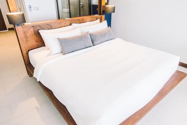 Tela lámpara de almohada decoración de lujo