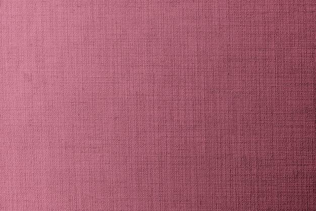 Tela de lino rosa tejida