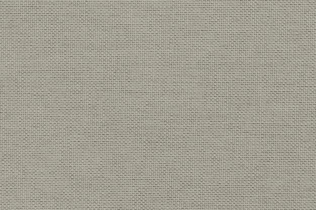 Tela de lona beige con textura textil