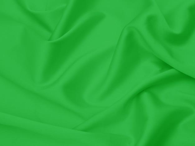 Tela verde para el fondo o la textura.