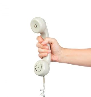 Teléfono gris vitntage