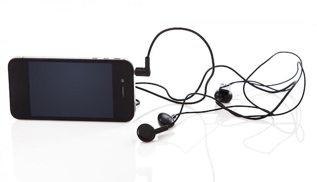 Teléfono inteligente y auriculares