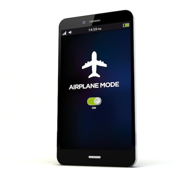 Teléfono en modo avión