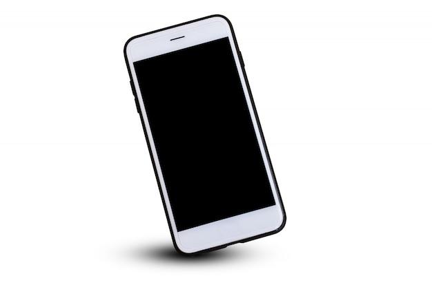 Teléfono móvil inteligente o diseño de teléfono 3d