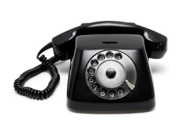 Telefono negro vintage