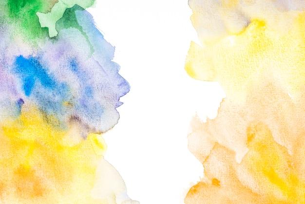 Telón de fondo con coloridos blobs de acuarela