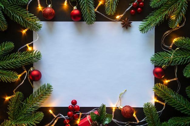 Tema de la casa decorada de navidad.