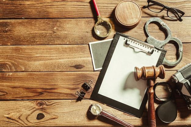 Tema derecho y justicia