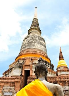 Templo de ayuthaya, tailandia