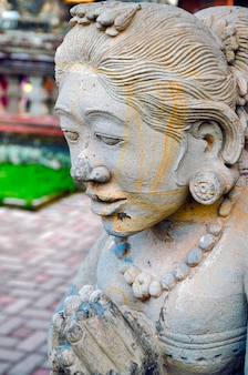 Templo batuan, templo hindú balinés en bali, indonesia