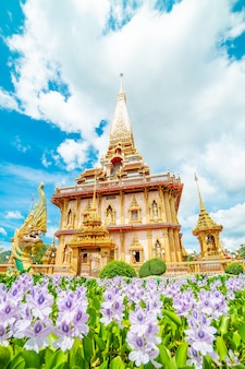 Templo de chalong phuket tailandia